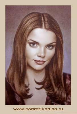 Портрет Лизы Боярской