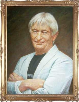 Портрет Николая Агутина.