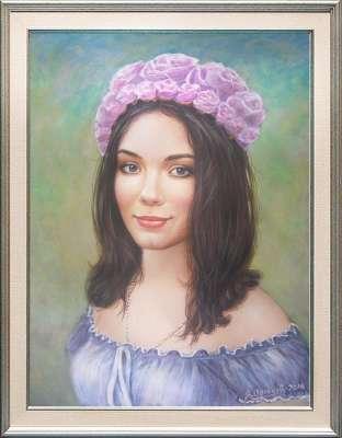 Портрет Татьяны 2014 год.