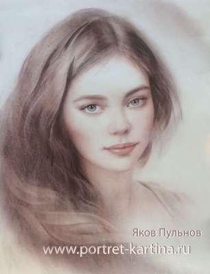 Портрет Ольги.
