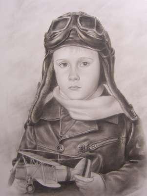 Мальчик с самолётиком
