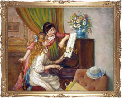Девушки у пианино