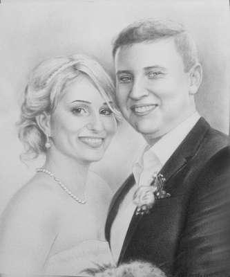 Портрет к годовщине свадьбы