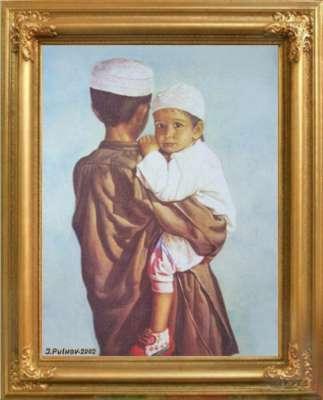 Портрет детей Дубая