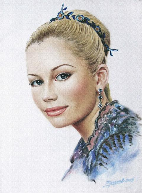 Елена Корикова. Рисунок. Сухая кисть