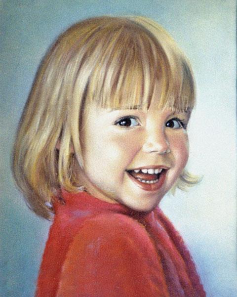 Портрет с фото на заказ выполненный